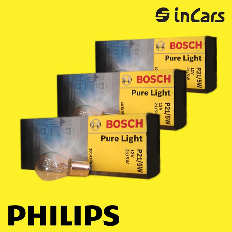 Автолампа Bosch  Pure Light P215W 12V 1987302201