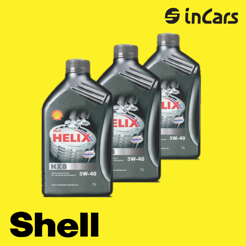 Моторное масло Shell, helix HX8 5W-40, 1L