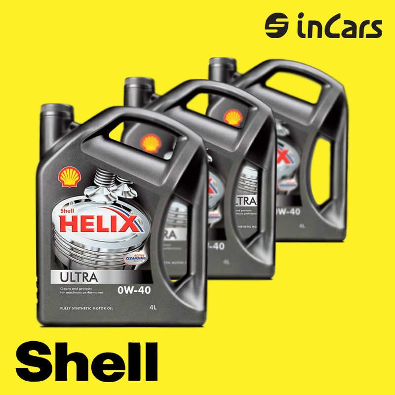 Моторное масло Shell, helix ultra 0W-40, 4L