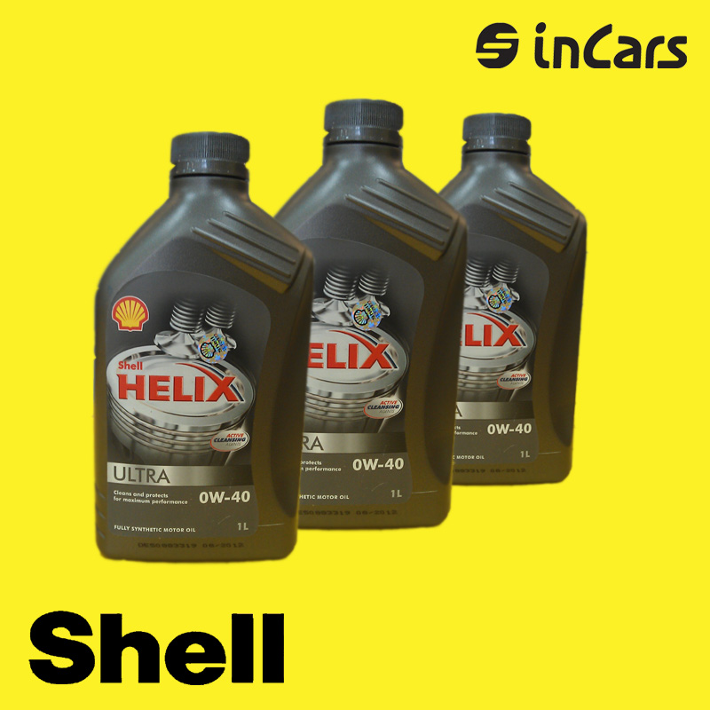 Моторное масло Shell, helix ultra 0W-40, 1L