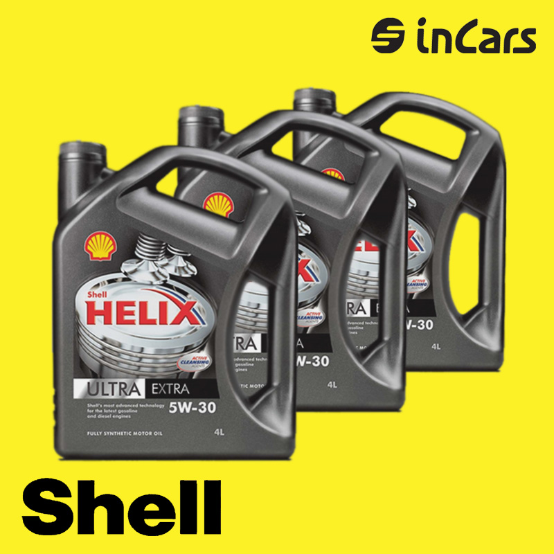 Моторное масло Shell, helix ultra extra 5W-30, 4L  SH136