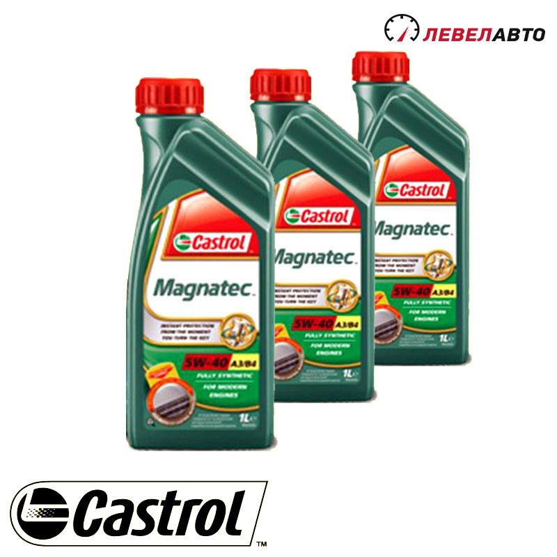 Моторное масло Castrol, Magnatec  5w-40, 1L  13519-7254